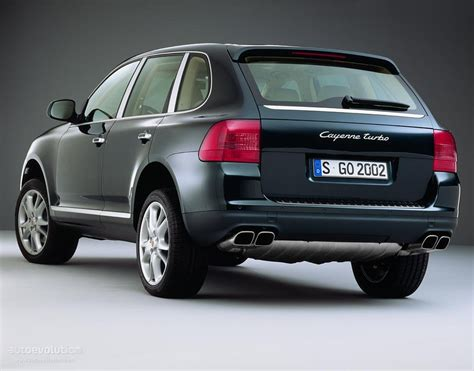 PORSCHE Cayenne Turbo (955) specs & photos - 2002, 2003