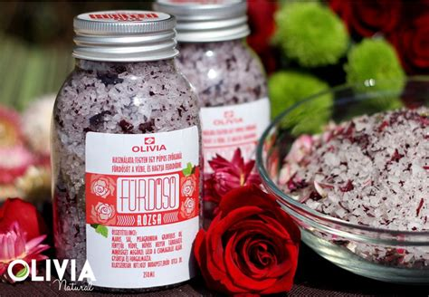 Rózsa fürdősó / Rose bath salt | Rose bath salts, Bath