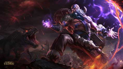 Tribal Ryze League Of Legends Wallpaper HD League Of