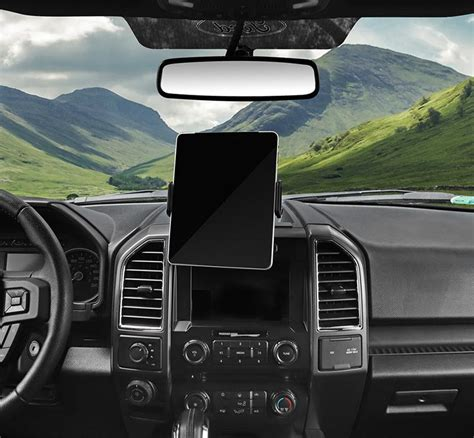 Bawa Gps Stand Car Cell Phone Holder For Ford F150 Black