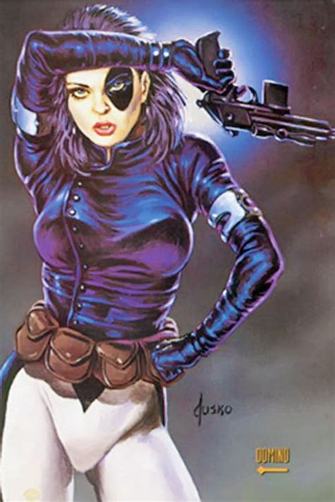 Domino - Marvel Comics - X-Force - Neena Thurman - Profile
