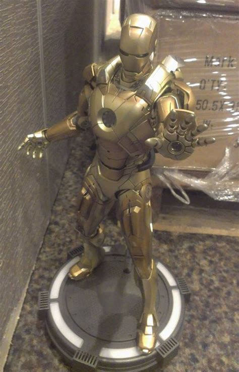 Hot Toys Midas Iron Man Mark 21 Released in Taiwan