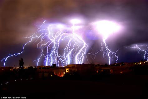 Amazing Lightning Albuquerque, New Mexico : Coolest Photos
