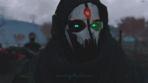Cod Ghosts Skull Masks (balaclava Retextures) at Fallout 4