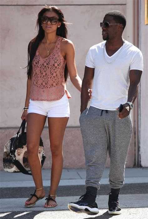 Kevin Hart Shops In Beverly Hills With Girlfriend Eniko
