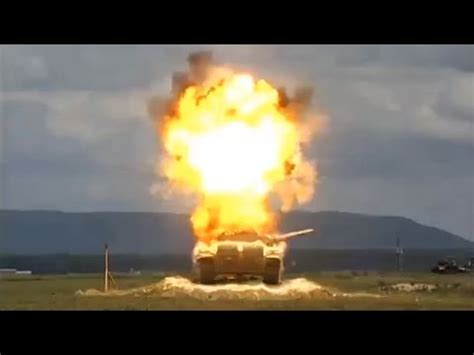 TOW Missile vs T-72 Tank In Slow Motion - YouTube