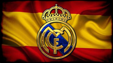 Real Madrid logo in Spain flag Wallpaper Full HD ID:3940